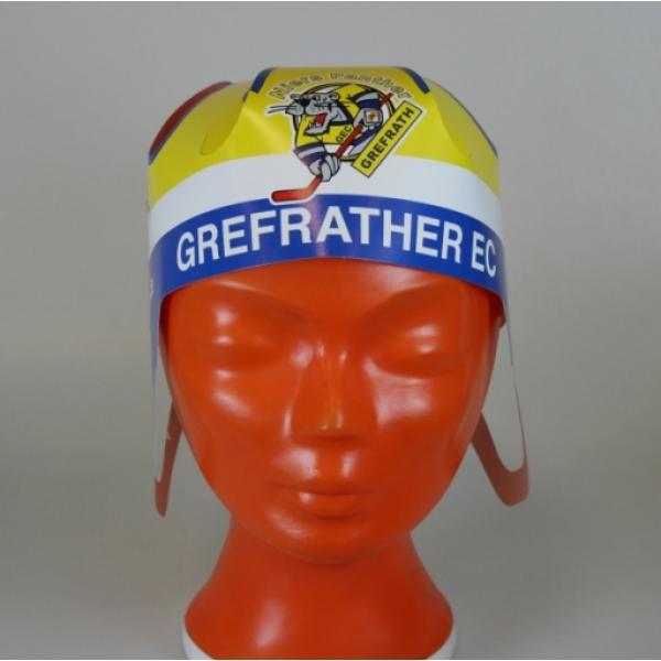 Werbe eishockey helm