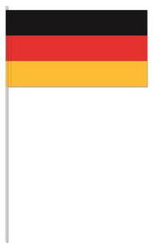 Deutschland Papier-fahnen