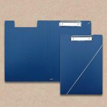 Klemmmappe aus Karton Blau