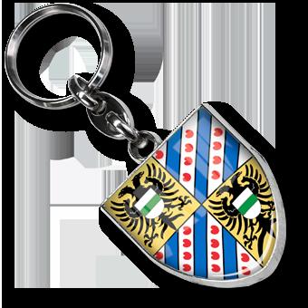 Werbe Schlüsselanhänger Wappen