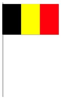 Belgien Papierfahnen