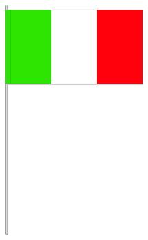 Italien Papierfahnen