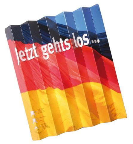Klatschfächer Deutschland aus Standard