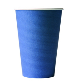 Papp-becher-blau