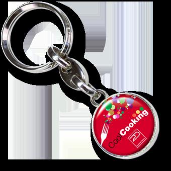 Schlüsselanhänger Mini-Metall