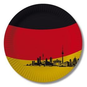 Deutschland Pappteller