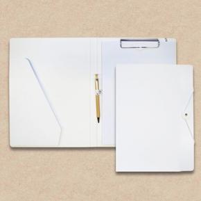 Schreibmappen mit Steckfach und Kulihalterung
