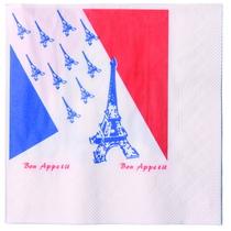 Servietten Frankreich