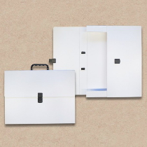 Prospektkoffer aus Karton DIN A3