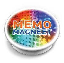Runder Memo Magnet