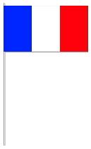 Frankreich Papier-fahnen
