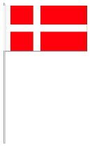 Papier-fahnen Dänemark