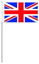 Papier-fahnen Königreich Großbritannien