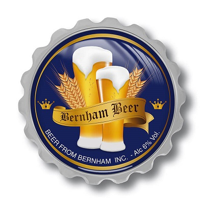Bier flaschenöffner mit Magnet Brauerei Flaschöffner für den Werbung