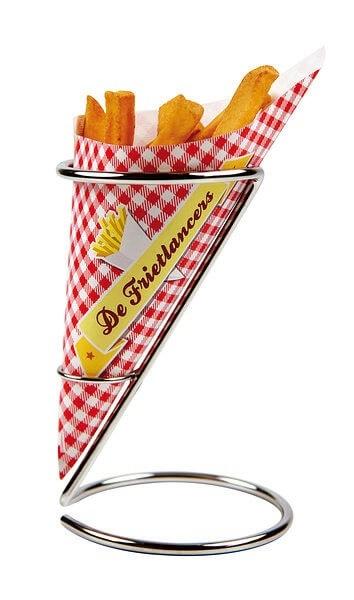 Pommes tüten oder Pommes papier für dem Events und Party auch Restaurant und Werbung