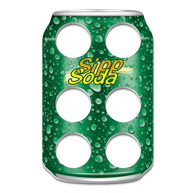 Sipp Soda Becher-halter für den Werbung oder Events