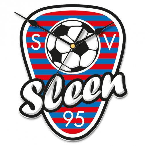 Wand uhr Sport Wand uhr Klok SV Sleen TV-Werbemittel