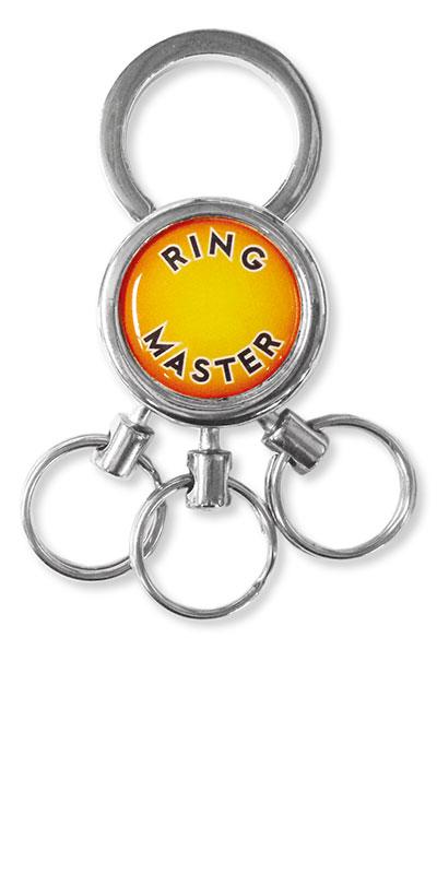 Metall Schlüsselanhänger Ringmaster