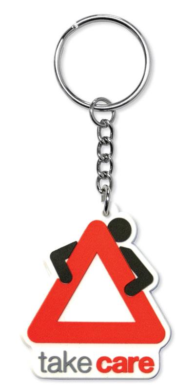 Rubber Schlüsselanhänger