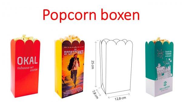 Popcorn boxen, Popcorn box