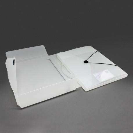 sammelmappe aus kunststoff pp mit verschluss scheibe