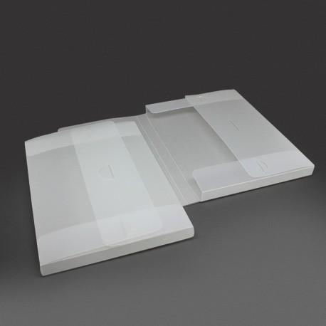 Sammelmappe aus Kunststoff (PP) mit Steckverschluss