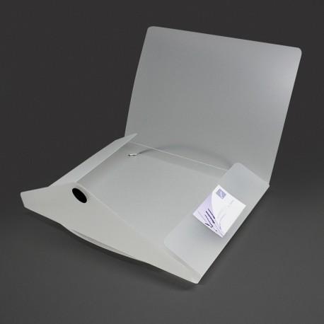 sammelmappen aus kunststoff pp mit verschluss scheibe TV-Werbemittel