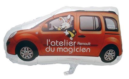 Folienballons für den Autohaus