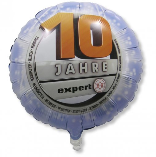 Luftballon und Folienballon für den Läden