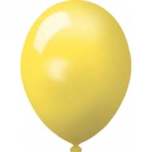 Luftballons in gelb