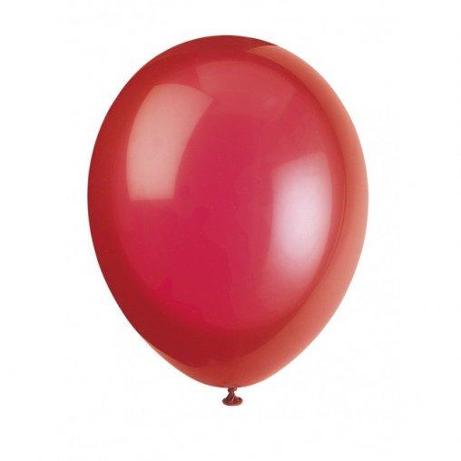 Luftballons in rot, Luftballons rot