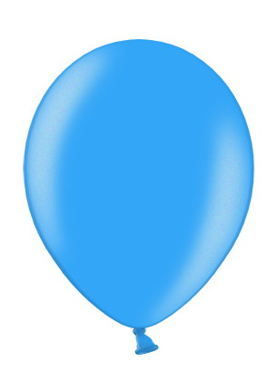 Luftballons in blau