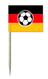 Deutschland / Fußball Picker oder Deutschland / Fußball Minifähnchen