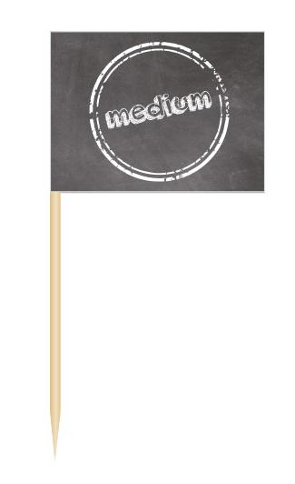 Minifähnchen medium, Minifahnen medium, BBQ Flags medium, Minifähnchen Speisenkennzeichnung,
