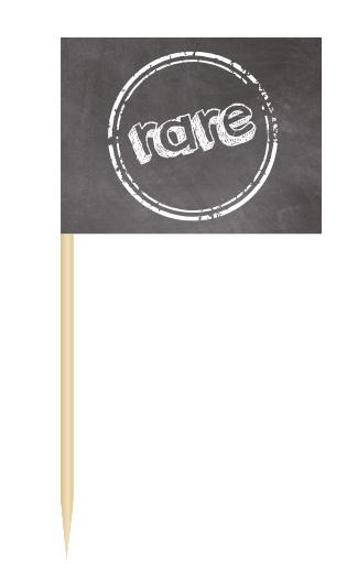Minifähnchen rare, Minifahnen rare, BBQ Flags rare, Minifaehnchen Speisenkennzeichnung,