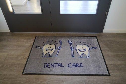 Fußmatten zahnarzt oder Zahnarzt matten