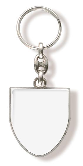 Schluesselanhaenger Wappen Weiss
