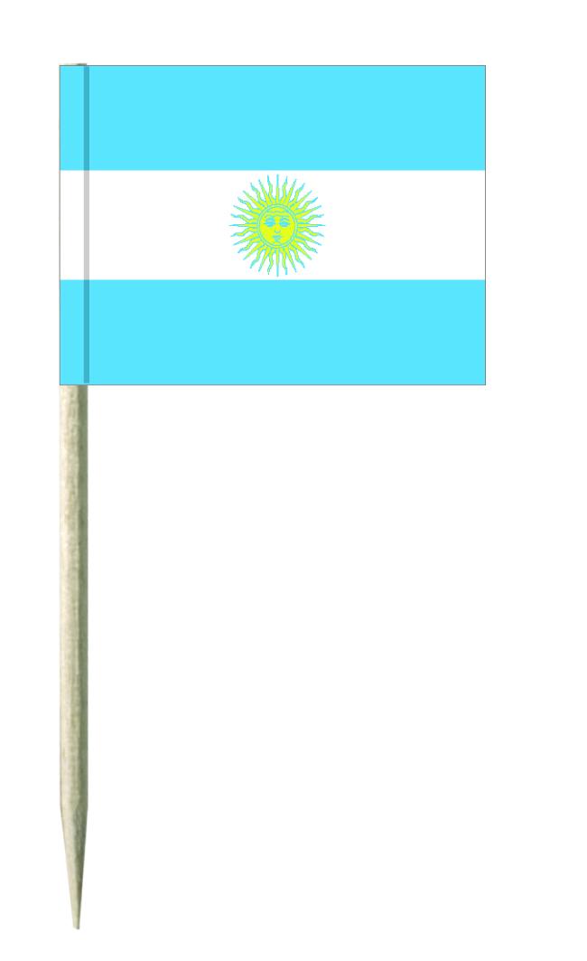 Argentinien Minifahnen, Minifahnen, Minifähnchen, minifahnen kostprobenpicker, Käsepicker, Holz-picker, Minifahnen, käsepicker ideen, party picker holz,