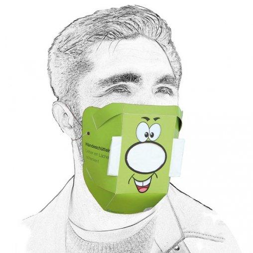 Behelfsmaske, Behelfsmaske für Mund und Nase,
