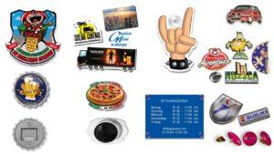 Büroartikel, Bürobedarf, Büro-zubehör, Karneval Schilder, Magnete, Schilder mit Saugnaepfen, Pins,