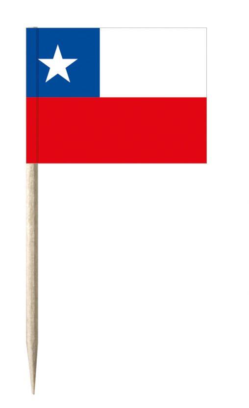 Chile Minifahnen oder Käsepicker und Holz-picker