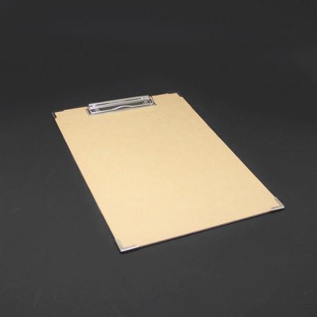 Clipboard mit Metallecken oder Klemmbrett mit Metallecken und büro-brett