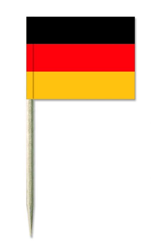 Deutschland Holz-picker oder Minifahnen und Käsepicker