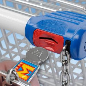 Einkaufswagenlöser, Multifunktionaler Schlüsselanhänger, Einkaufswagenchips, Schlüsselanhänger,