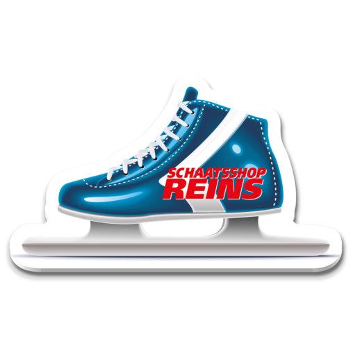 Eiskratzer, Eiskratzer Werbung, Eiskratzer Werbeartikel, Eiskratzer Werbemittel, Eissporthalle, IJskrabber Schaatsshop Reins NL 2020