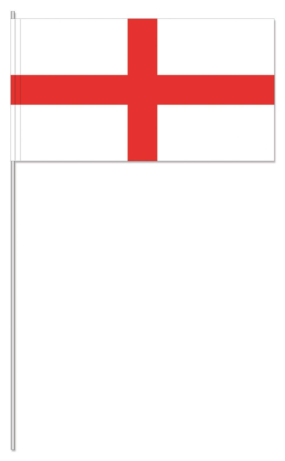 England Papierfahnen, England Papierfähnchen,