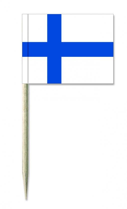 Finnland Holz-picker oder Minifahnen und Käsepicker
