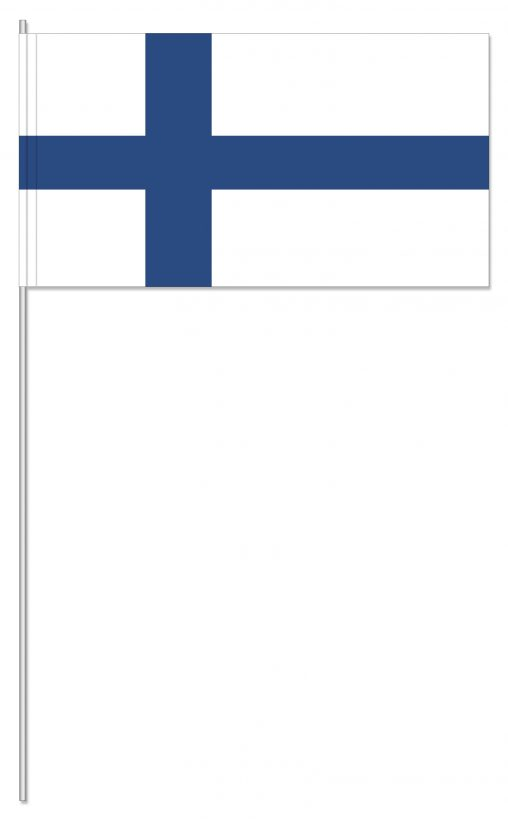 Finnland Papierfahnen, Finnland Papier-fahnen, Finnland, Papierfahnen,