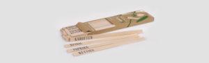 Namensschilder aus Holz