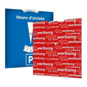 Parkscheibe Frankreich, Parkscheiben Frankreich, Parkscheibe France, Parkscheiben France, Parkscheibe, Parkscheiben, Parkscheibe Werbung, Parkscheiben Werbung